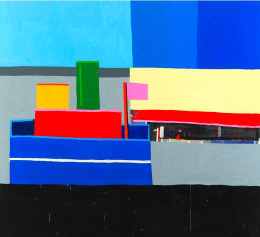 Storming back in: Guy Yanai shows his (new) goods
